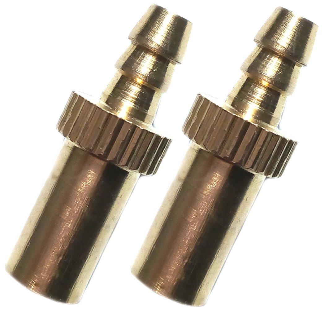 PRESKIN 2 St/ück Ventiladapter Sclaverand-Ventil auf Dunlop-Pumpe SV DV Auch Optisch Ein Highlight