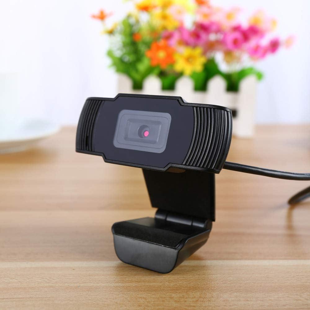 NELOMO Plug and Play PC Webcam HD 720P,USB Web Vid/éo Cam/éra,Web Cam Webcam avec MIC,Petit//Flexible//r/églable,pour Ordinateur Portable de Bureau,pour R/éseau Conf/érence et T/él/étravail