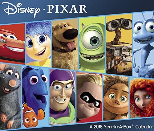 2018 Disney PIXAR Calendar (Year-In-A-Box)