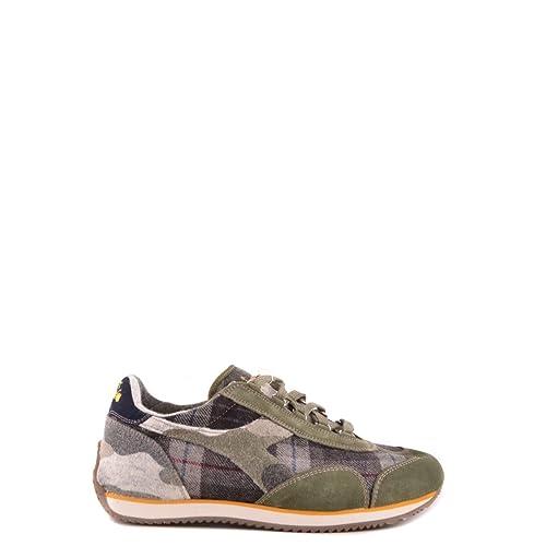 Shoe Equipe Uomo Check Scarpa Diadora Verde B9172 Heritage Sneaker 8q7fn1a8wR