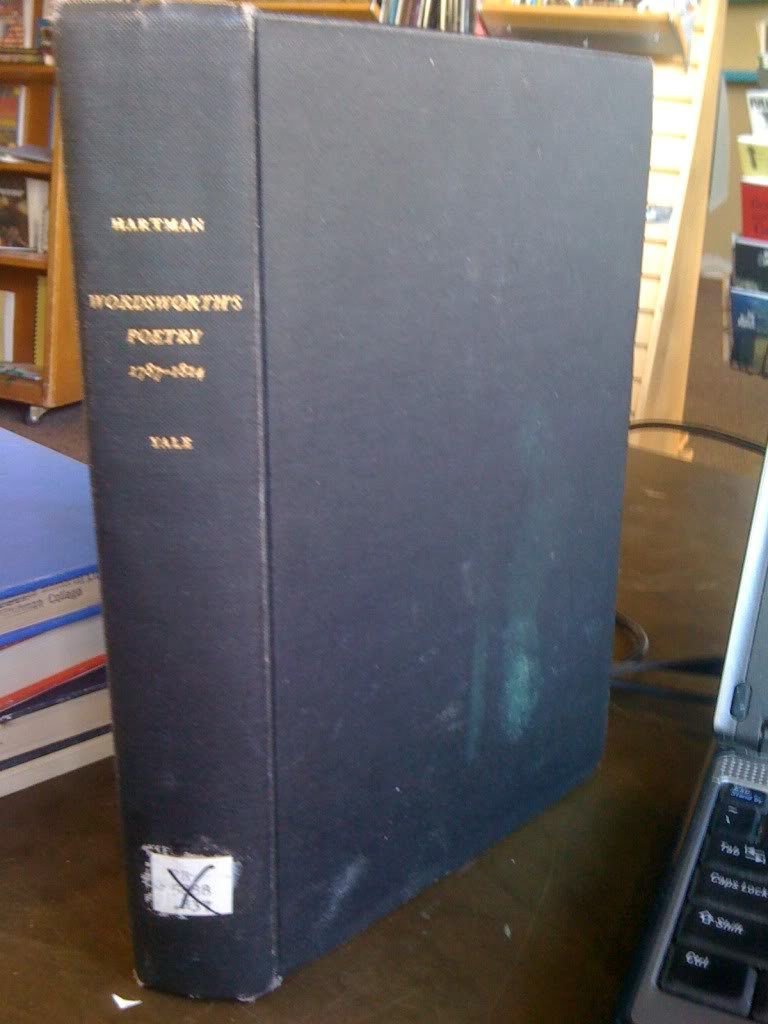 Wordsworths poetry, 1787-1814 : [with the essay Retrospect 1971]