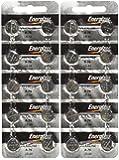 """Energizer LR44 1.5V Button Cell Battery 20 pack (Replaces: LR44, CR44, SR44, 357, SR44W, AG13, G13, A76, A-76, PX76, 675, 1166a, LR44H, V13GA, GP76A, L1154, RW82B, EPX76, SR44SW, 303, SR44, S303, S357, SP303, SR44SW) """"Energizer Brand Name Batteries"""""""