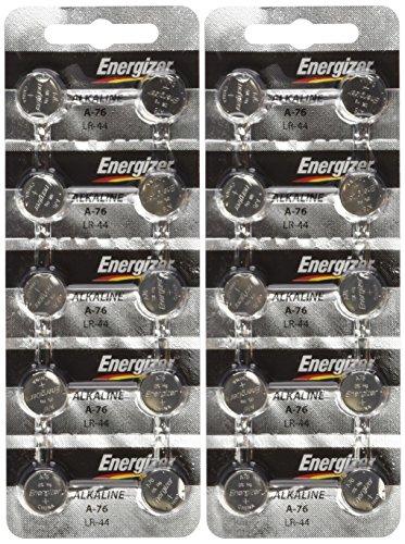 Energizer Lr44 1 5v Button Cell Battery 20 Pack