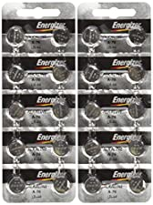 Energizer LR44 1.5V Button Cell Battery 20 pack (Replaces: LR44, CR44, SR44, 357, SR44W, AG13, G13, A76, A-76, PX76, 675, 1166a, LR44H, V13GA, GP76A, L1154, RW82B, EPX76, SR44SW, 303, SR44, S303, S357, SP303, SR44SW)