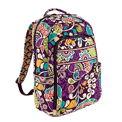 352b432b93 Amazon.com  Vera Bradley Campus Backpack Plum Crazy  Shoes