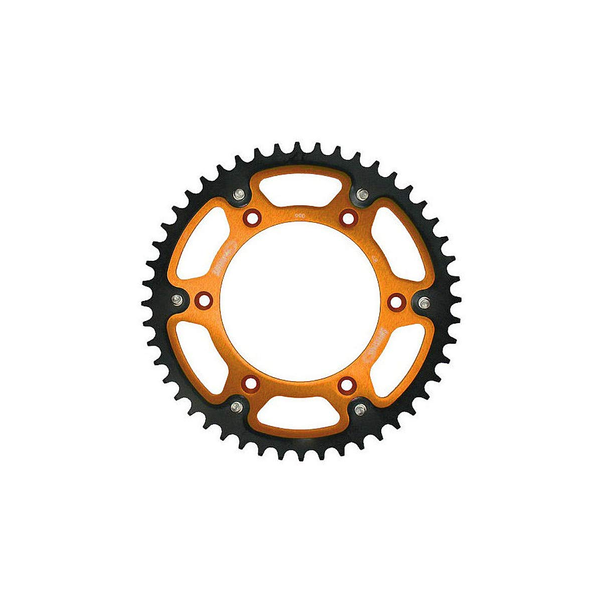 50T Orange for 94-19 KTM 250SX Supersprox Stealth Rear Sprocket