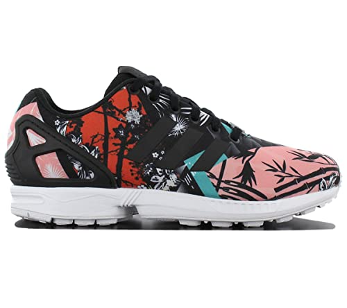 e4b549ff1ad1a adidas Womens Originals Womens ZX Flux Trainers in Black - UK 8 ...