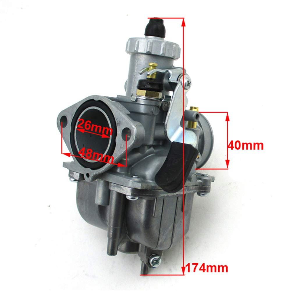 TC-Motor Racing Performance Mikuni VM22-3847 Carburetor Carb Mainfold 38mm Air Filter For Predator 212cc GX200 196cc Go Kart Mini Bike Red