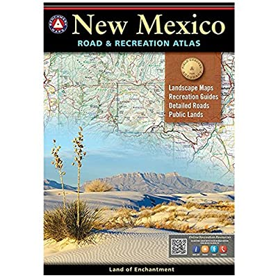 New Mexico Road & Recreation Atlas : 9th Edition (Benchmark Maps)