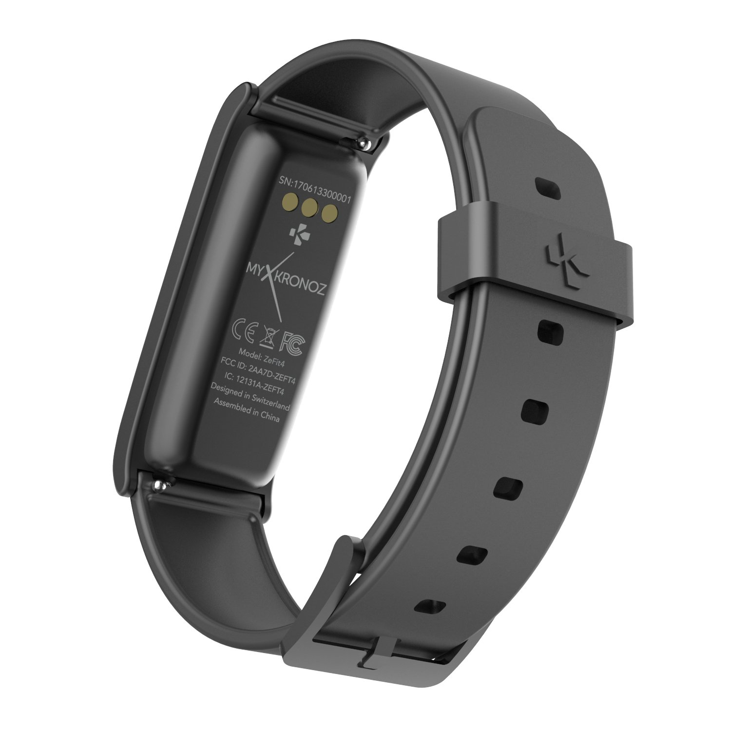 MyKronoz ZeFit4 - Activity Tracker con Pantalla táctil, Color Negro: Amazon.es: Electrónica