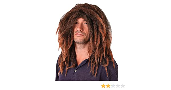 Amazon.com: Bristol Novelty BW317 Bob Marley Dreadlock Wig, One Size: Toys & Games