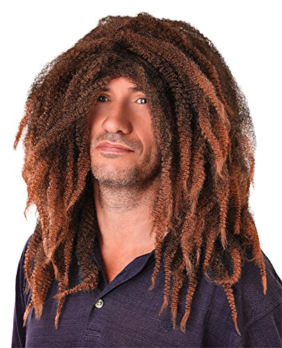 Bristol Novelty BW317 Bob Marley Dreadlock Wig, One Size