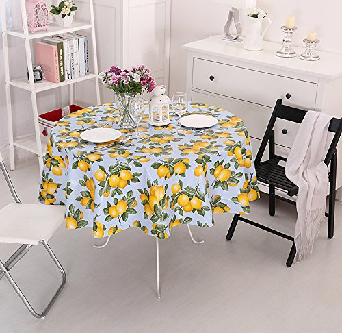 Superbe Vinylla Lemon Easy Wipe Clean PVC Tablecloth Oilcloth, Large: Amazon.co.uk:  Kitchen U0026 Home