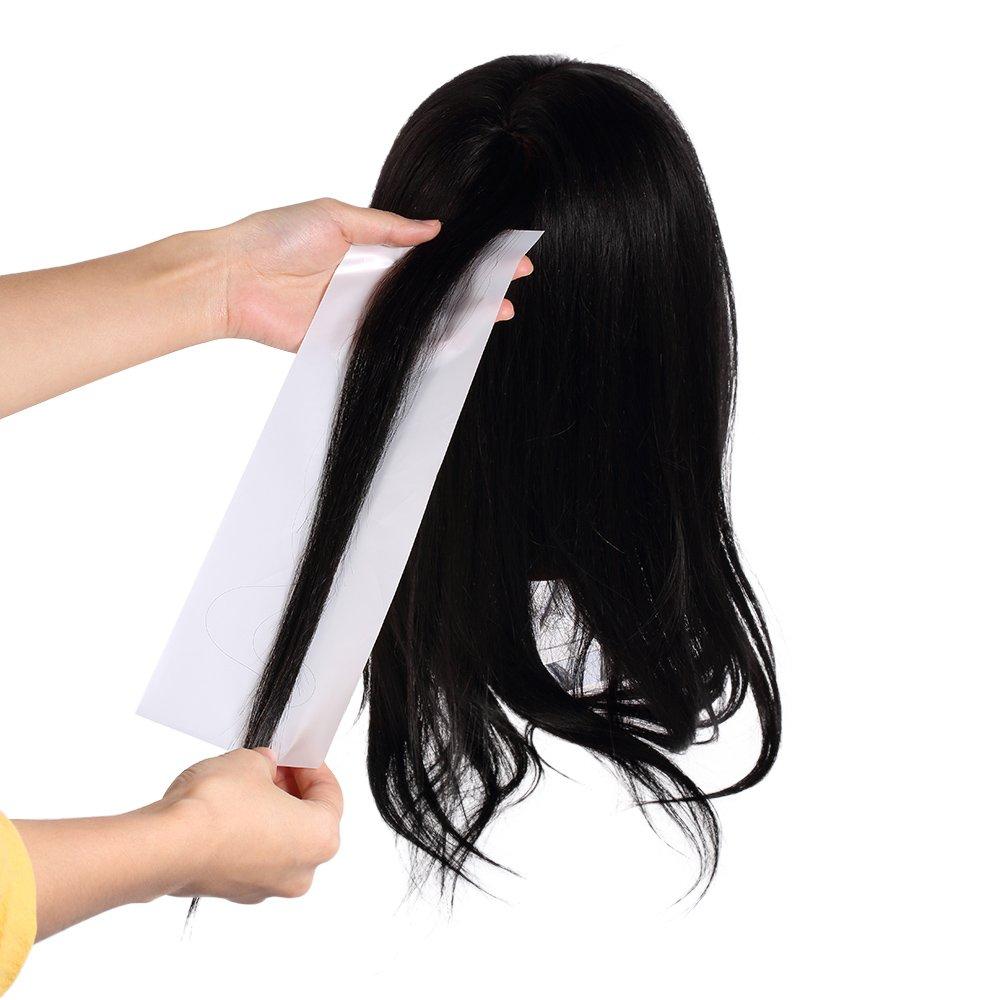 Anself 100pcs Hair Dye Paper Plastic Hair Coloring Paper Reusable Highlight Dyeing Separating Sheet Barber Tissue Tool W5234-RE31JC