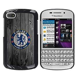 LOVE FOR BlackBerry Q10 Chels Football Soccer Club Personalized Design Custom DIY Case Cover