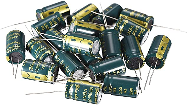 35V 47uF High Frequency LOW ESR Radial Electrolytic Capacitors 105°C 5x11mm