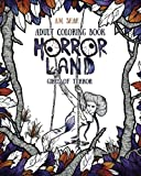 Adult Coloring Book Horror Land: Girls of Terror (Book 2)