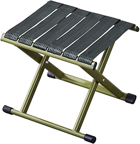 Poit Mini Folding Camping Stool Fishing Chair, 11.8X 9.8X 11.8 Inch