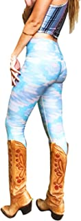 product image for teeki, Women's Legging or Hot Pant, Southern Cross (Blue)