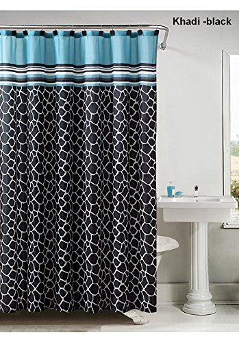 Victoria Classics Khadi 13 Piece Shower Curtain Set