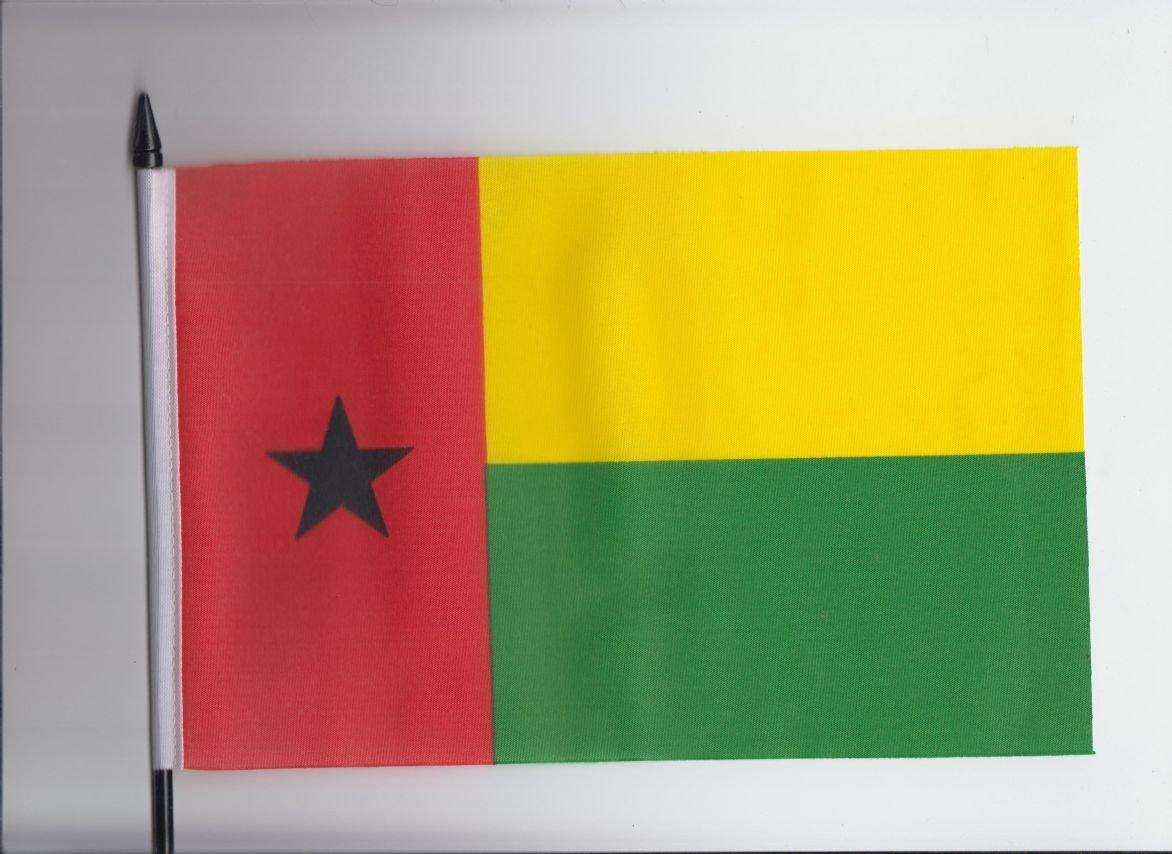 Guinea-Bissau Medium Hand Held Flag 23cm x 15cm