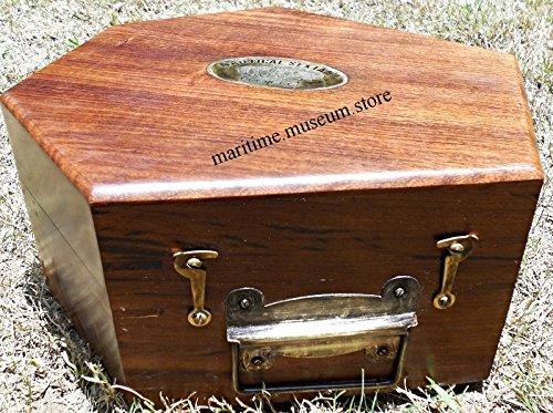 7 Inch Antiques Marine Captain Sextant – Brass Nautical Sextant. C-3135 by MARINE ART HANDICRAFTS