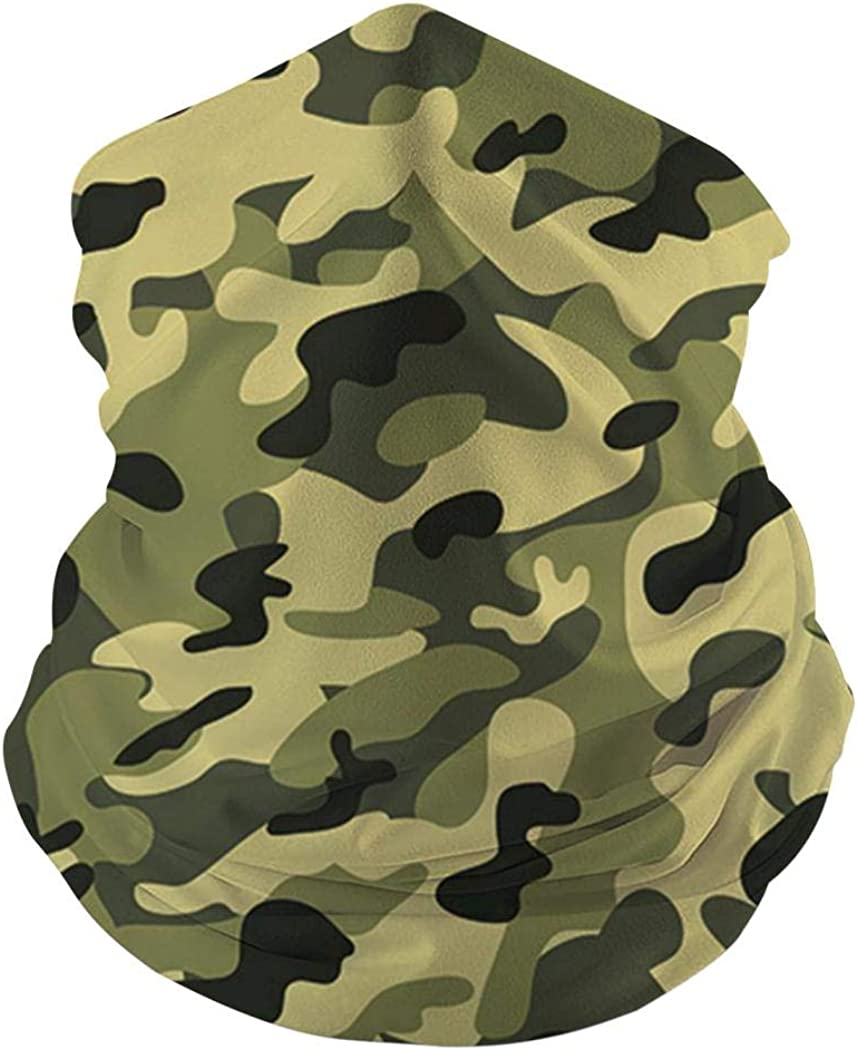 Outdoors Sports Festivals Bandanas for Dust Balaclava for Dust Wind Sun Protection Kicher Camouflage Seamless Face Mask