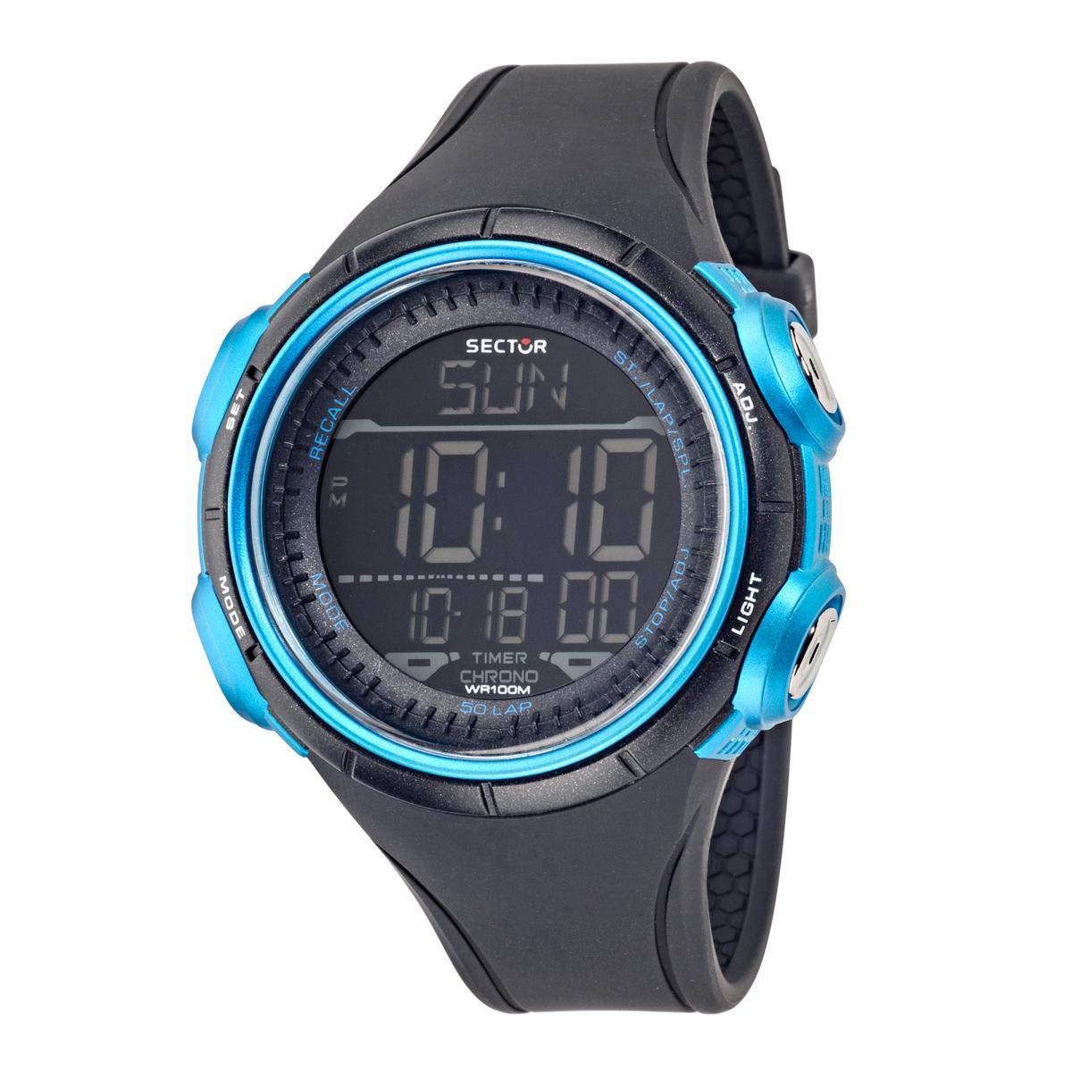 SECTOR NO LIMITS Reloj Digital para Hombre de Cuarzo con Correa en PU R3251590001