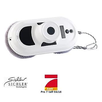 Robot limpiacristales de Sichler Haushaltsgeräte. robot limpiacristales Inteligente PR-030 V2 (limpiacristales eléctrico): Amazon.es: Hogar