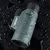 Polaris-Optics-EagleEye-10X42-Compact-Monocular-with-NEW-PrismView-Optics-Provides-Exceptionally-Bright-Clear-Views-One-Hand-Focus-Tripod-Capable-Lightweight-Waterproof-Fogproof