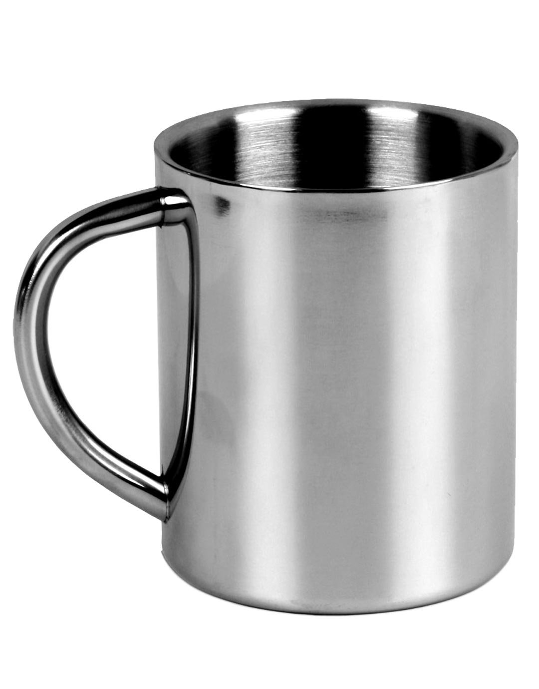 Stainless Camping Mug Lifeventure color steel