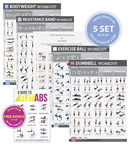 Tighten Exercise LAMINATED 8 Minute Included product image