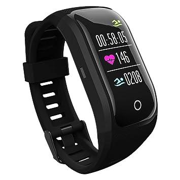 WOSOSYEYO Reloj para Correr con GPS Reloj para Deportes al Aire Libre Reloj multifunción de Acero Inoxidable: Amazon.es: Juguetes y juegos