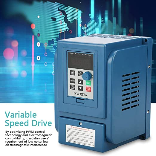 3-Phase 0.75kW AC Motor Professional 1pc 380VAC 3A Variable Frequency Drive VFD Speed Controller