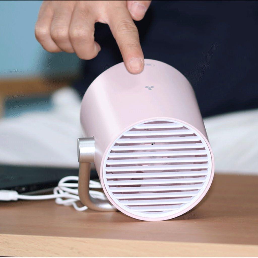 Travel Home Fan Small Fan Office Desktop Desk Ultra Quiet Student Dormitory Bedroom Bed Fan ZWS Portable Fan USB Charging Mini Fan Touch Sensing Low Noise Quiet Strong Wind Fan Heat Dissipation