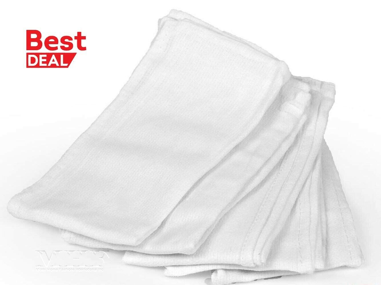 Super Soft White Glass Cleaning Huck/Surgical/Shop and Detailing Towels MTX*STWL 50PC by E_GGW (Image #3)