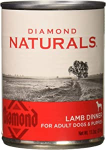 Diamond Naturals Lamb Dinner, 13.2oz, for Dogs and Puppies, 1can