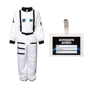 Disfraz infantil de astronauta, tallas 116, 128, 140, 152, 164 ...