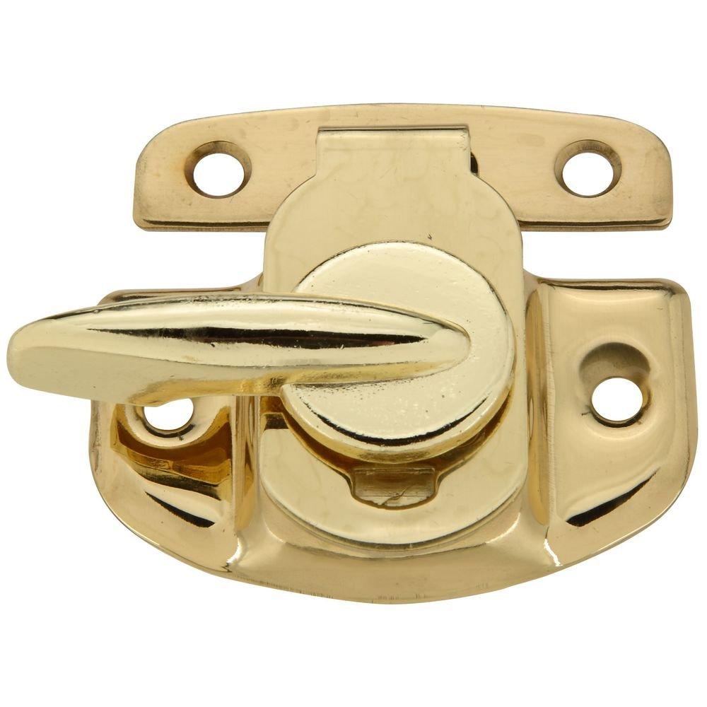 National Hardware N216-119 V1977 Tight Seal Sash Lock in Solid Brass