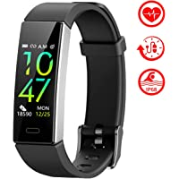 Mgaolo Fitness Tracker,2020 Version IP68 Waterproof Activity Tracker with Blood Pressure Heart Rate Sleep Monitor,10 Sport Modes Health Fit Smart Watch with Pedometer for Men Women Kids