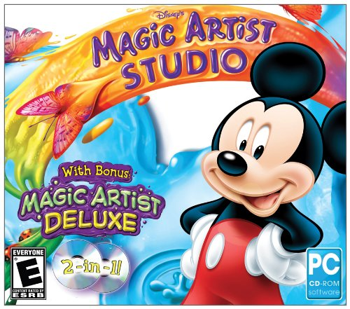 disney's magic artist studio software