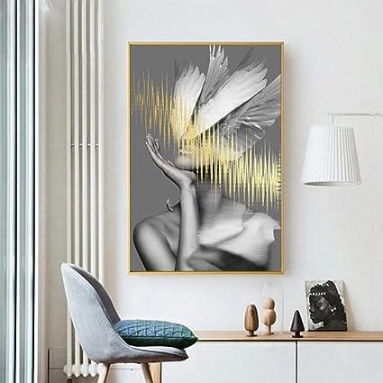 Amazon.com: karrybizi Art Painting Decorative Painting Bedroom ...