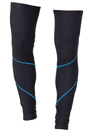 4ucycling Unisex Verano Protección Solar Protección UV Leg Sleeves Deportes Ciclismo calzas, otoño, color