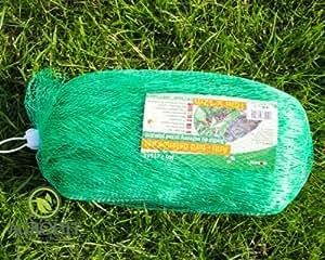 Red de protección para pájaros (8x 10m 3056610–Red protectora para jardín estanque Red Árboles Frutales.