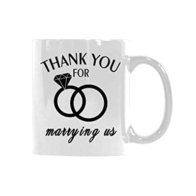 Amazoncom Funny Quotes Thank You For Marrying Us Wedding Rings