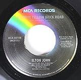 goodbye yellow brick road 45 rpm single