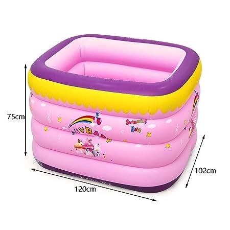 W&NR Bañera Inflable Piscina Infantil for niños Inicio ...