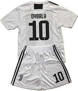 buy popular 8c191 e0408 Amazon.com: Enevva Dybala #10 Juventus 2018-2019 Youths Home ...