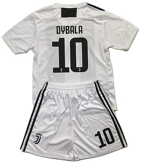 ad465450790 Gadzhinski2017 Dybala  10 Juventus 2018-2019 Kids Youths Home Soccer Jersey    Shorts
