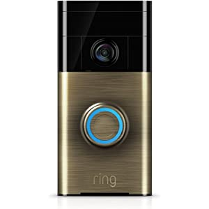 Ring Wi-Fi Enabled Video Doorbell at amazon